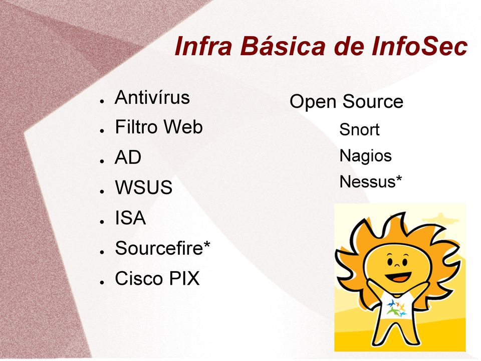 WSUS ISA Sourcefire* Cisco