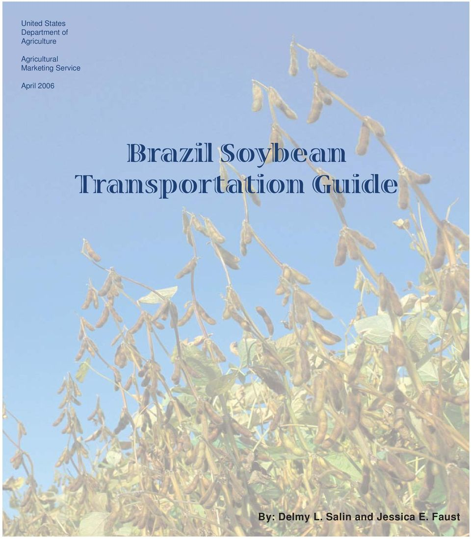 2006 Brazil Soybean Transportation
