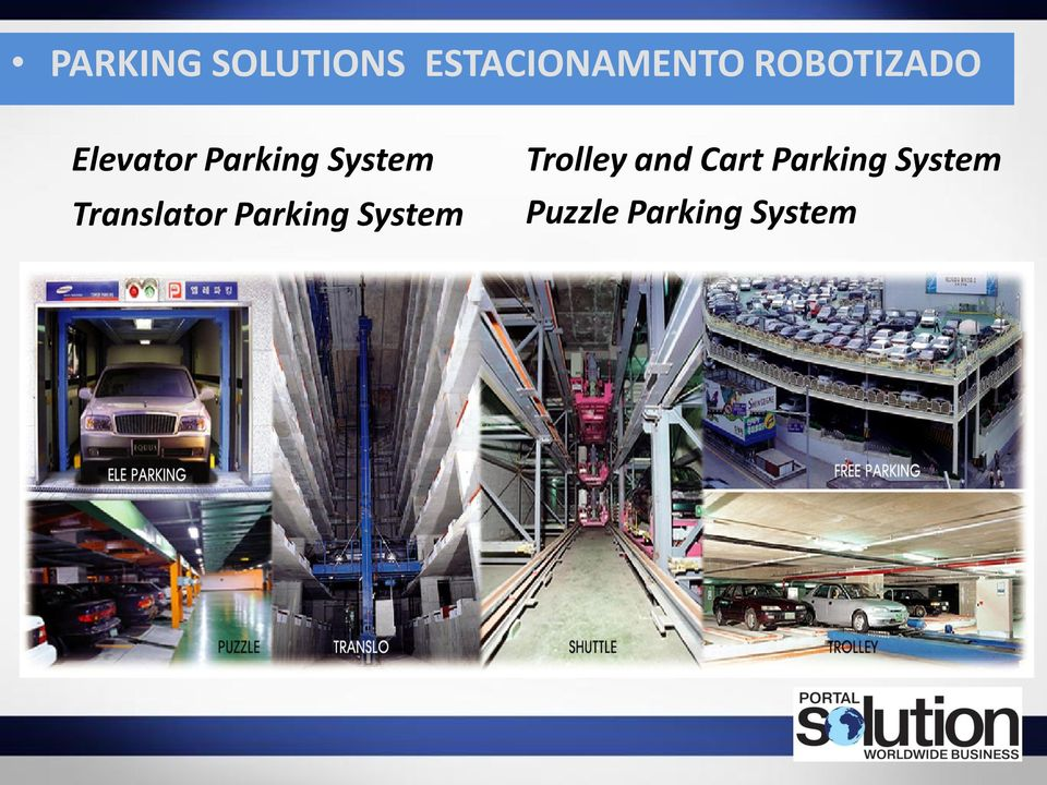 Translator Parking System Trolley