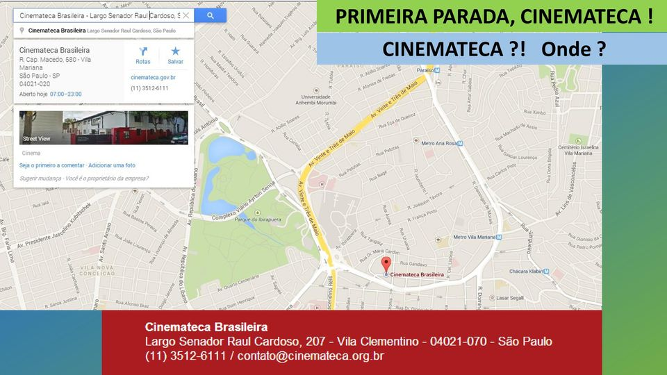 CINEMATECA!