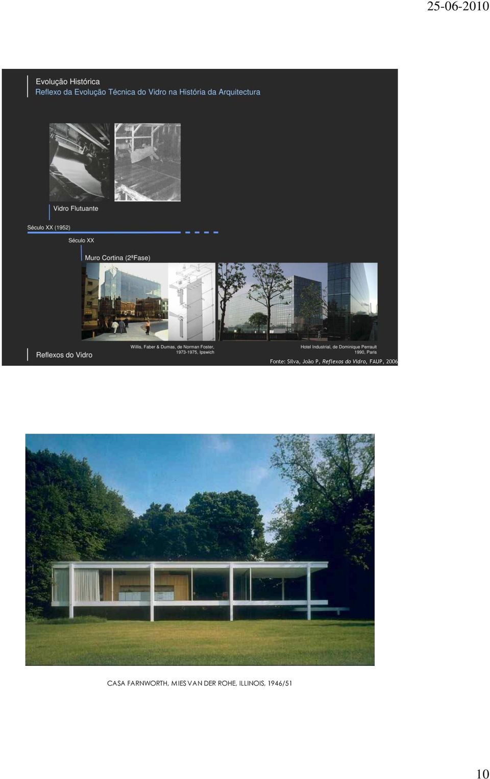 2006 CASA FARNWORTH, MIES