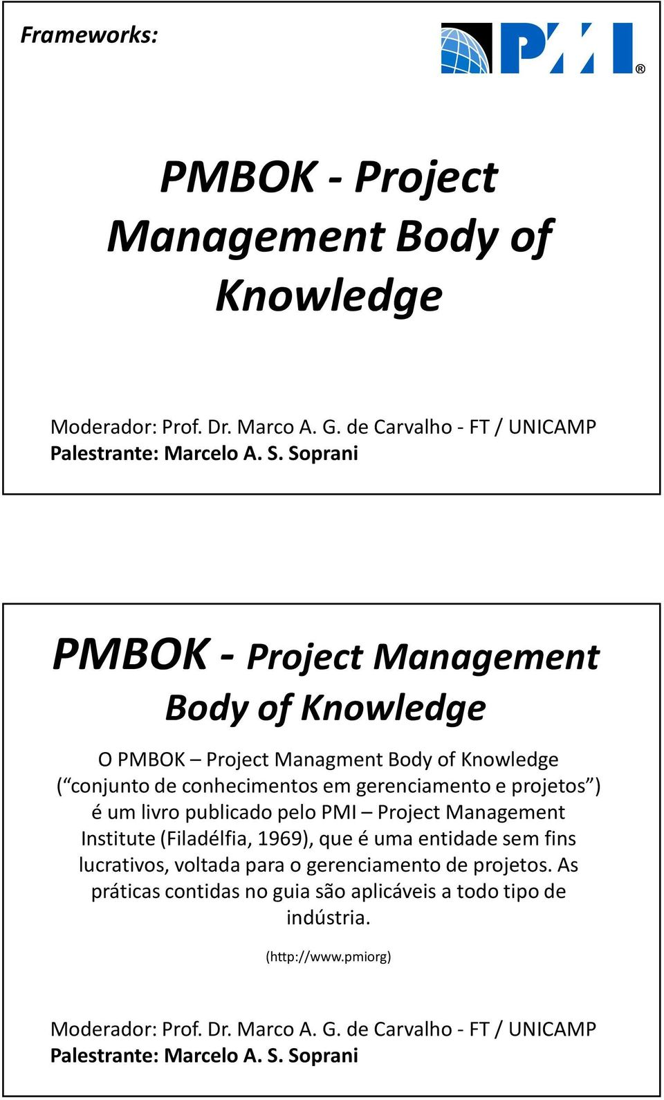 pmbok 1 introduction