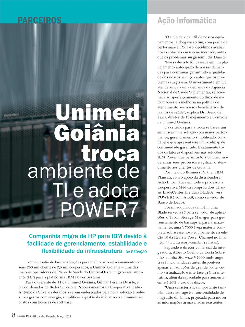 ambiente (HP) para a plataforma IBM Power Systems.