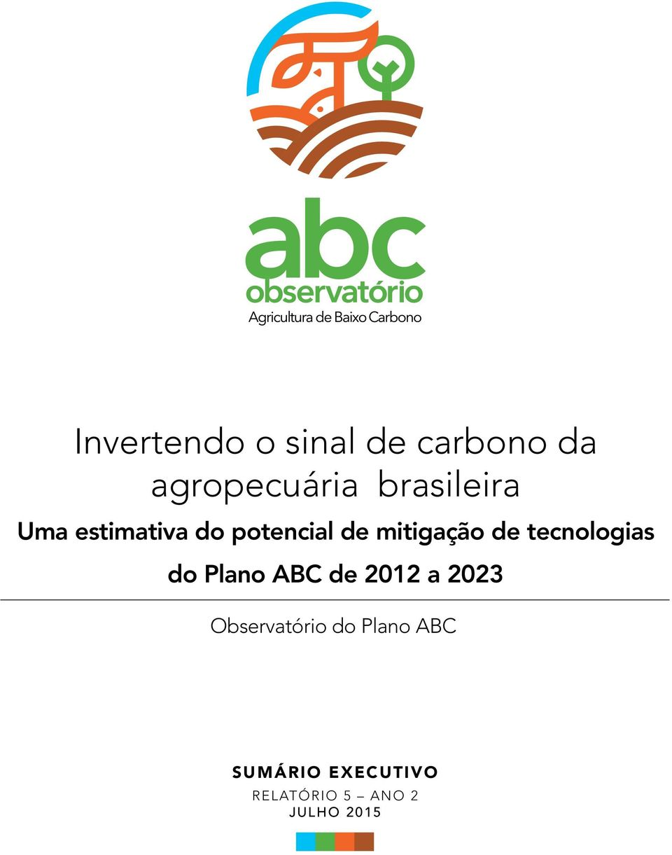 de tecnologias do Plano ABC de 212 a 223