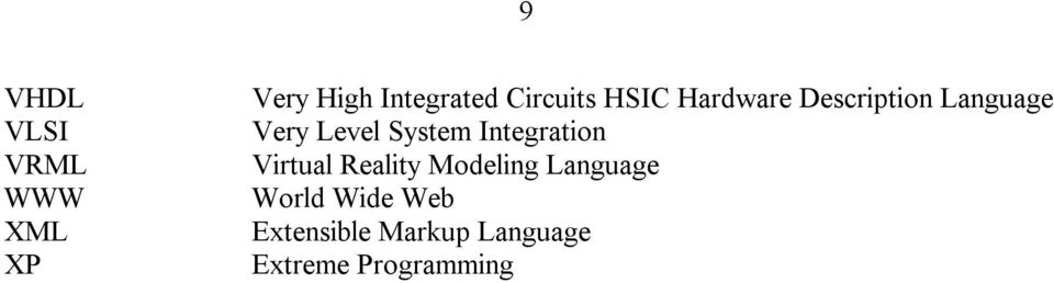 System Integration Virtual Reality Modeling Language