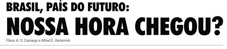 Papel estratégico do Solo para o Futuro do