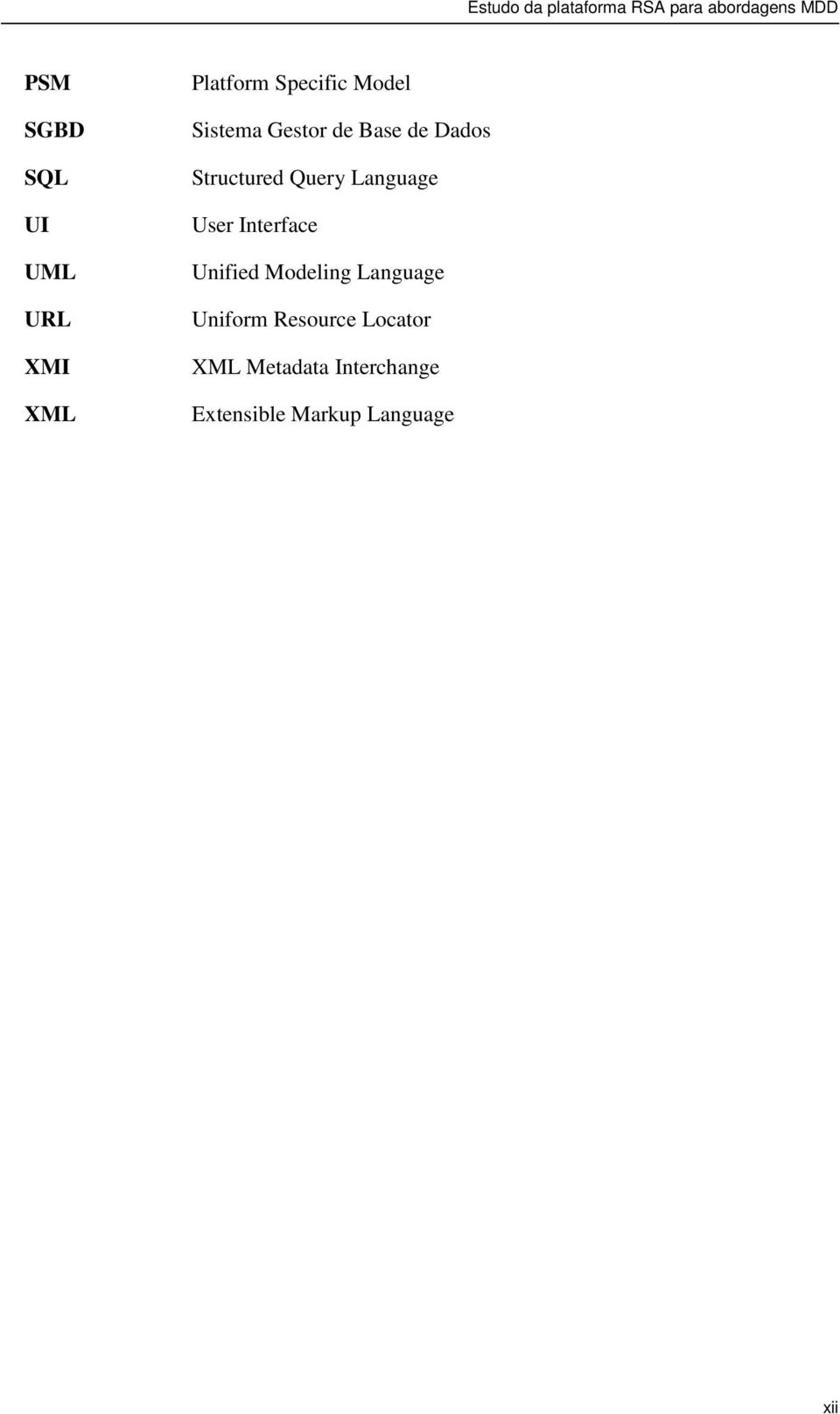 User Interface Unified Modeling Language Uniform Resource