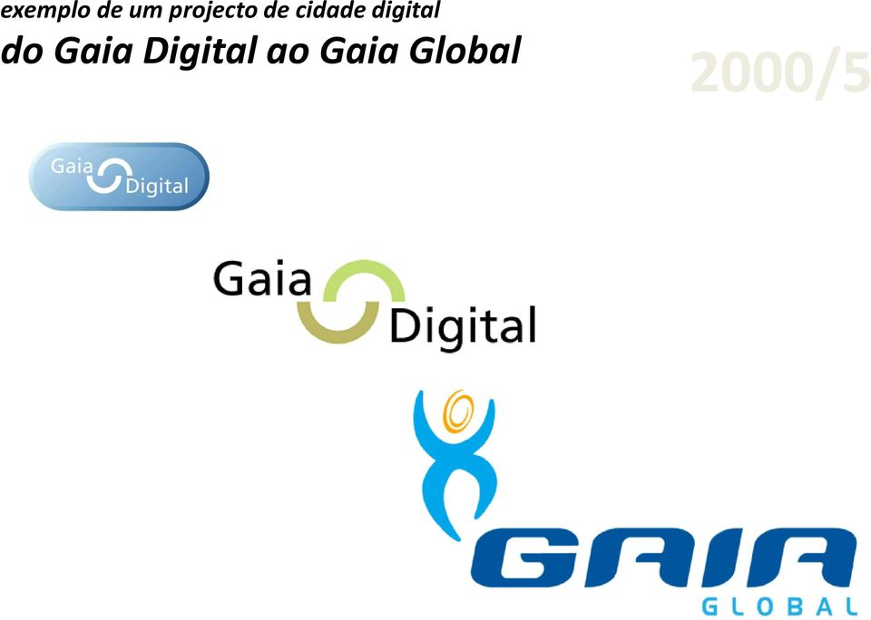 digital do Gaia