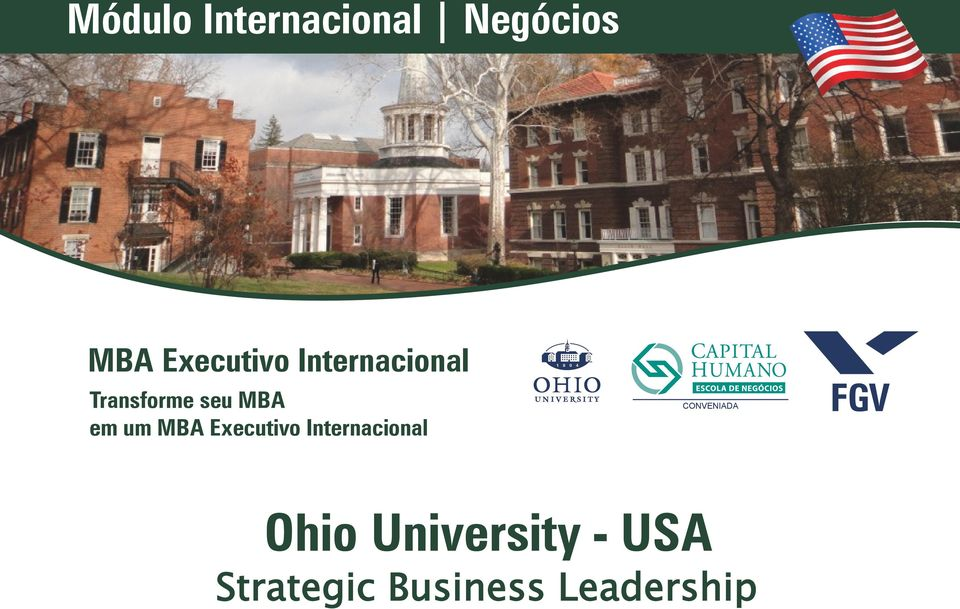 Executivo Internacional CONVENIADA Ohio