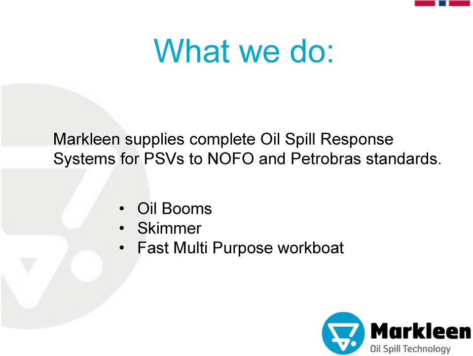 NOFO and Petrobras standards.