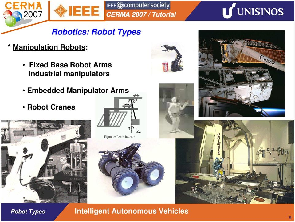 (Automated Guided Vehicles) Robôs Indoor: Veículos, Holonômicos, Humanoides,.