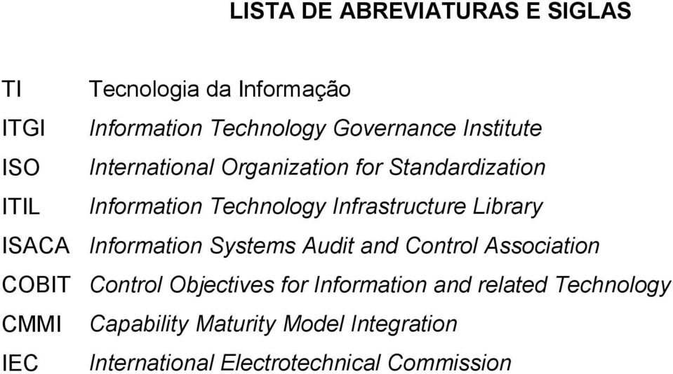 Library ISACA Information Systems Audit and Control Association COBIT Control Objectives for Information