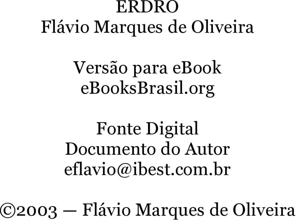 org Fonte Digital Documento do Autor