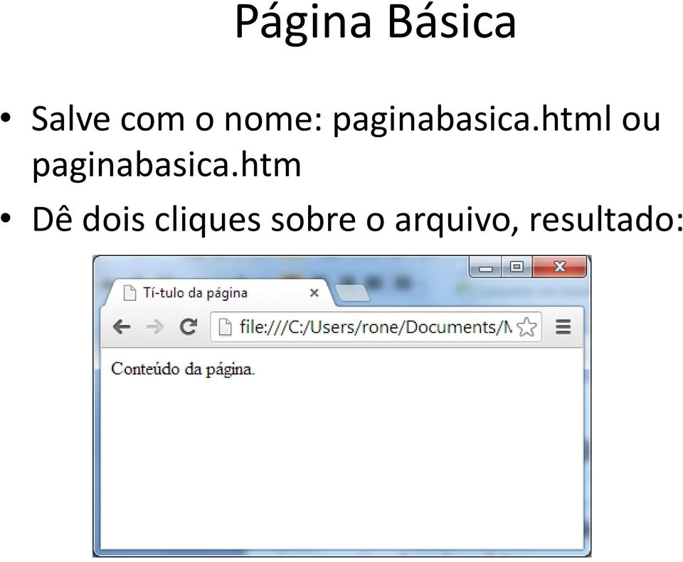 html ou paginabasica.