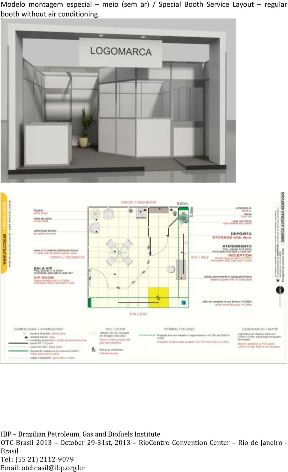 Booth Service Layout