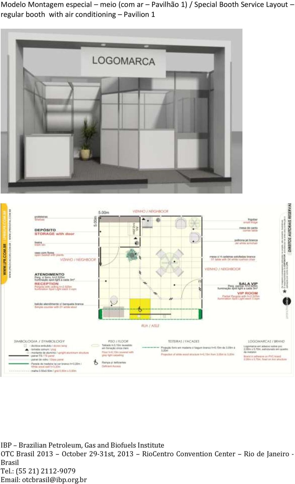 Booth Service Layout regular