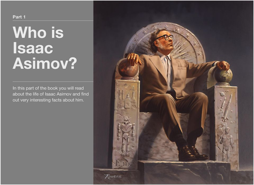 read about the life of Isaac Asimov