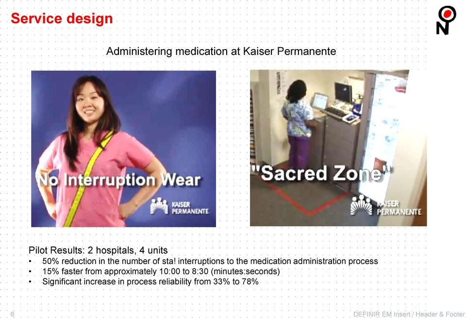 interruptions to the medication administration process 15% faster from approximately