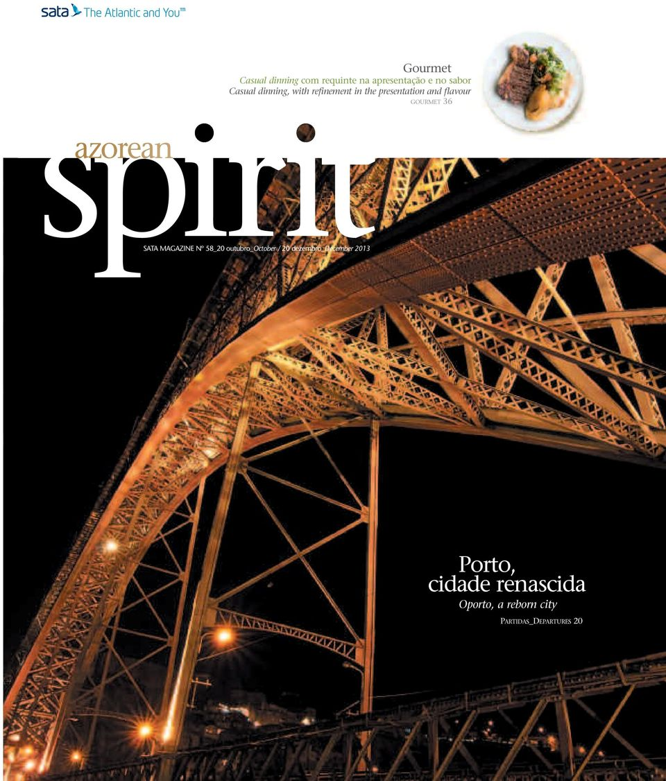 spirit azorean SATA MAGAZINE Nº 58_20 outubro_october / 20
