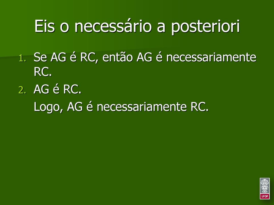 necessariamente RC. 2.