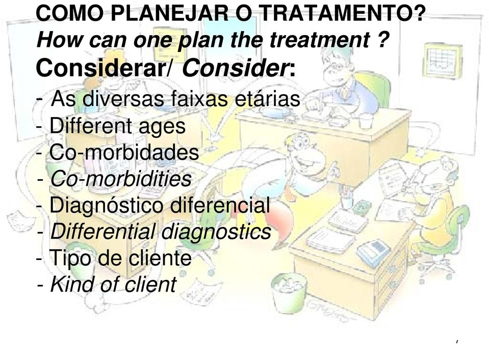 ages - Co-morbidades - Co-morbidities - Diagnóstico