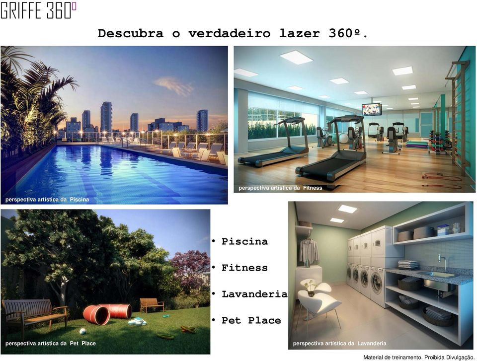 Piscina Piscina Fitness Lavanderia Pet Place perspectiva