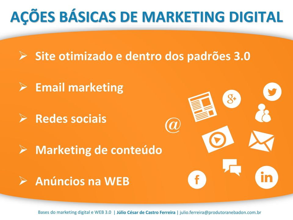 0 Email marketing Redes