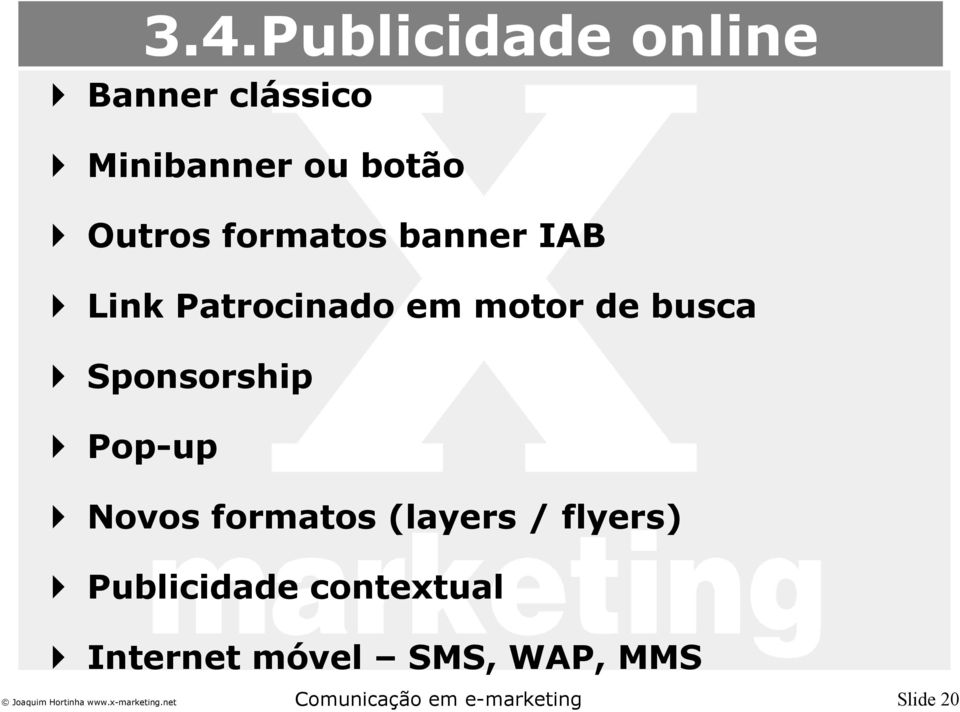 busca Sponsorship Pop-up Novos formatos (layers / flyers)