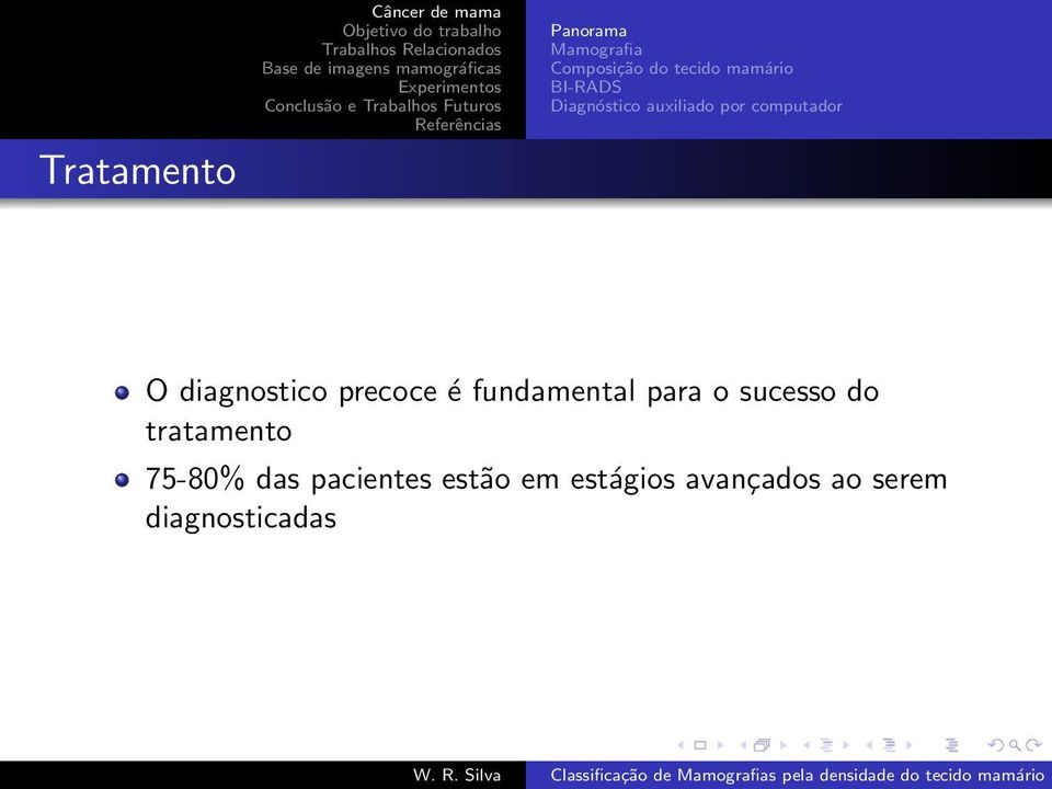 diagnostico precoce é fundamental para o sucesso do tratamento