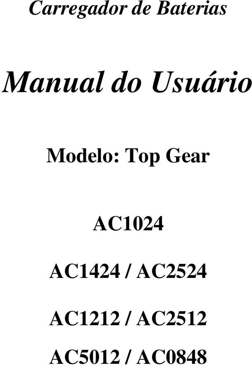 Top Gear AC1024 AC1424 /