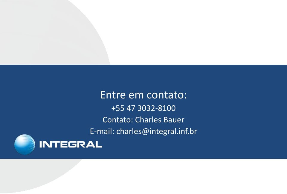Charles Bauer E-mail: