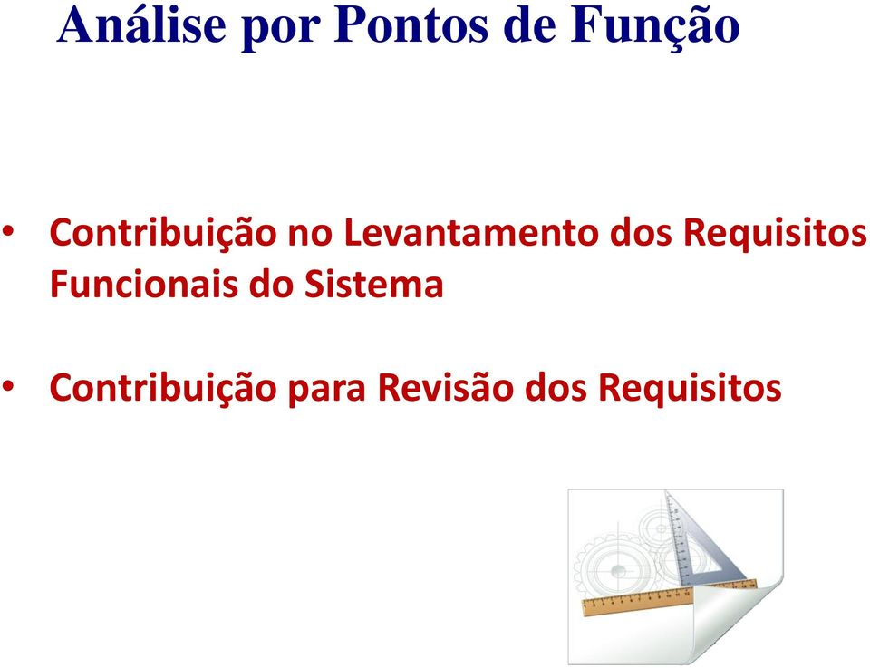 Requisitos Funcionais do Sistema