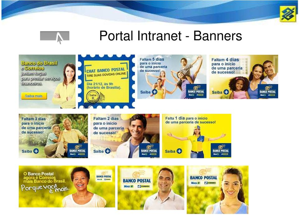 - Banners