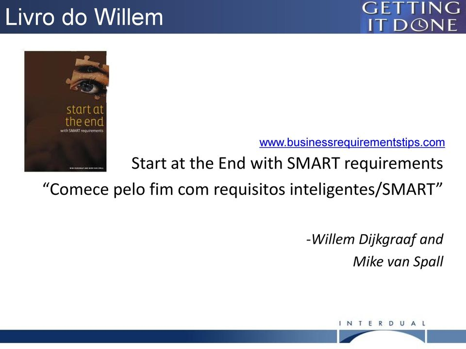 com Start at the End with SMART