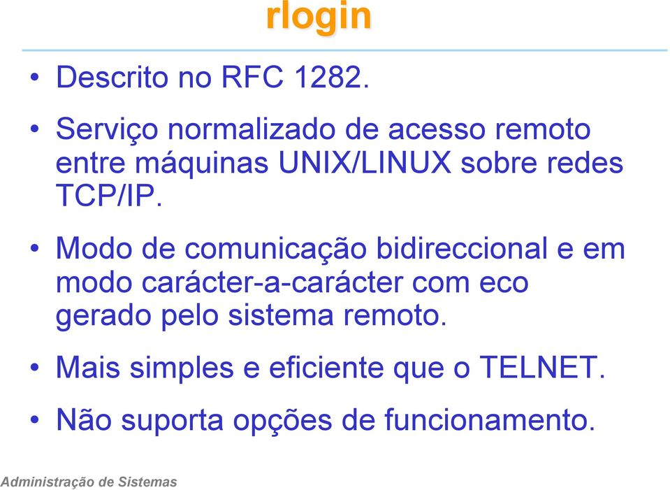 redes TCP/IP.
