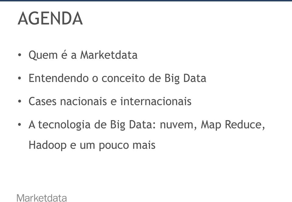 internacionais A tecnologia de Big Data: