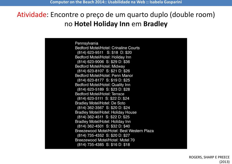 no Hotel Holiday Inn em