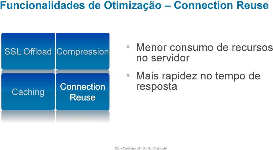 Compression Caching Menor consumo de