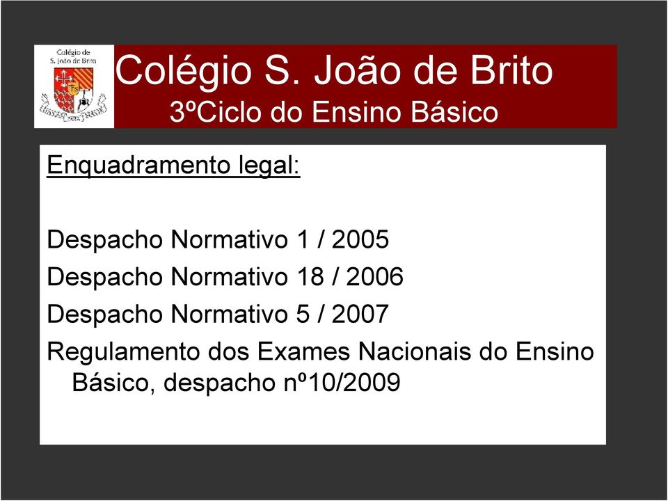 legal: Despacho Normativo 1 / 2005 Despacho Normativo 18