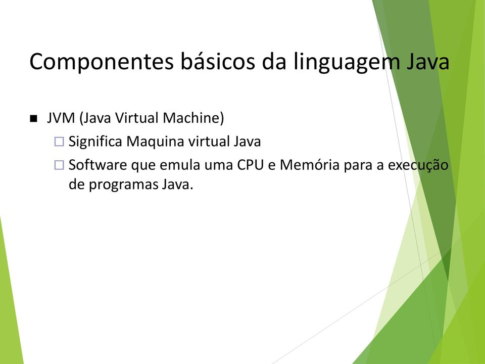 virtual Java Software que emula uma CPU e