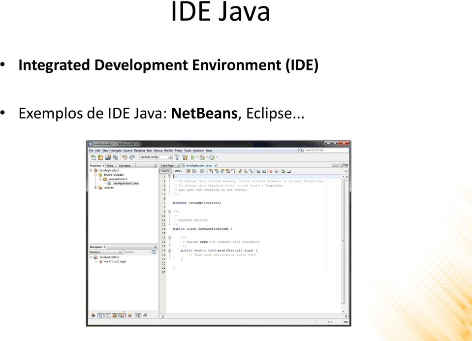 Environment (IDE)