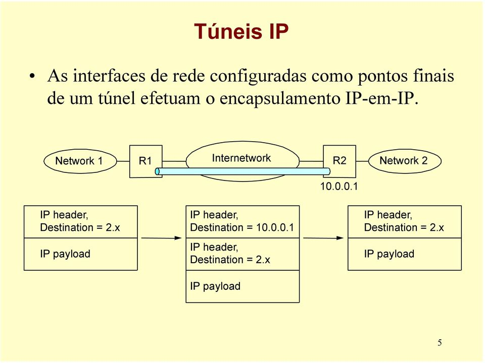0.0. IP header, Destination = 2.x IP payload IP header, Destination = 0.0.0. IP header, Destination = 2.x IP payload IP header, Destination = 2.
