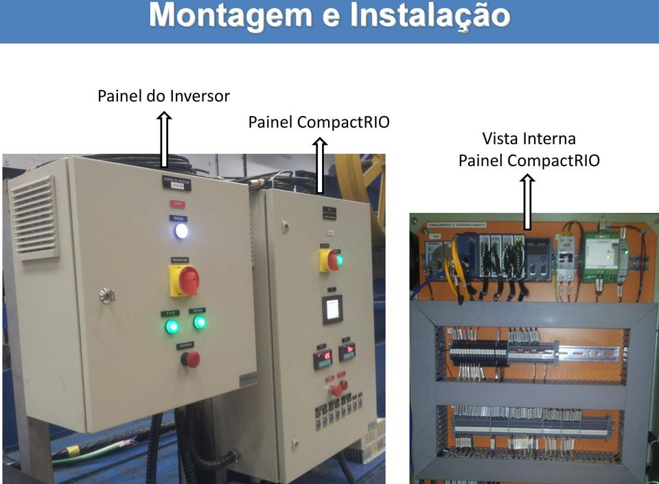 Painel CompactRIO
