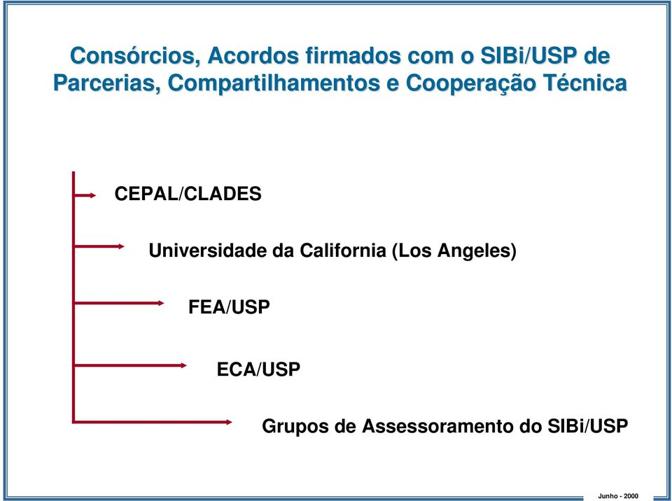 CEPAL/CLADES Universidade da California (Los