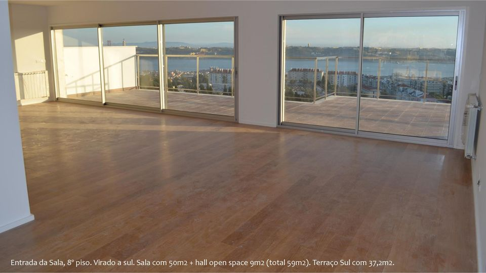 Sala com 50m2 + hall open space