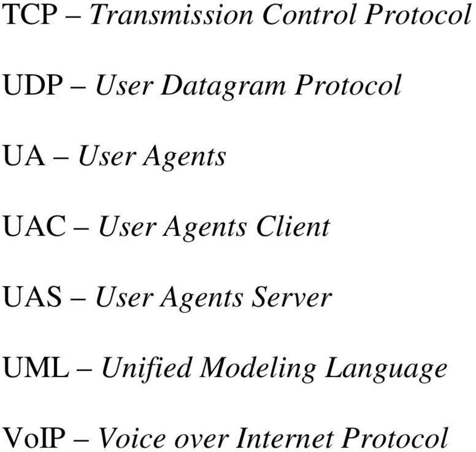 Agents Client UAS User Agents Server UML
