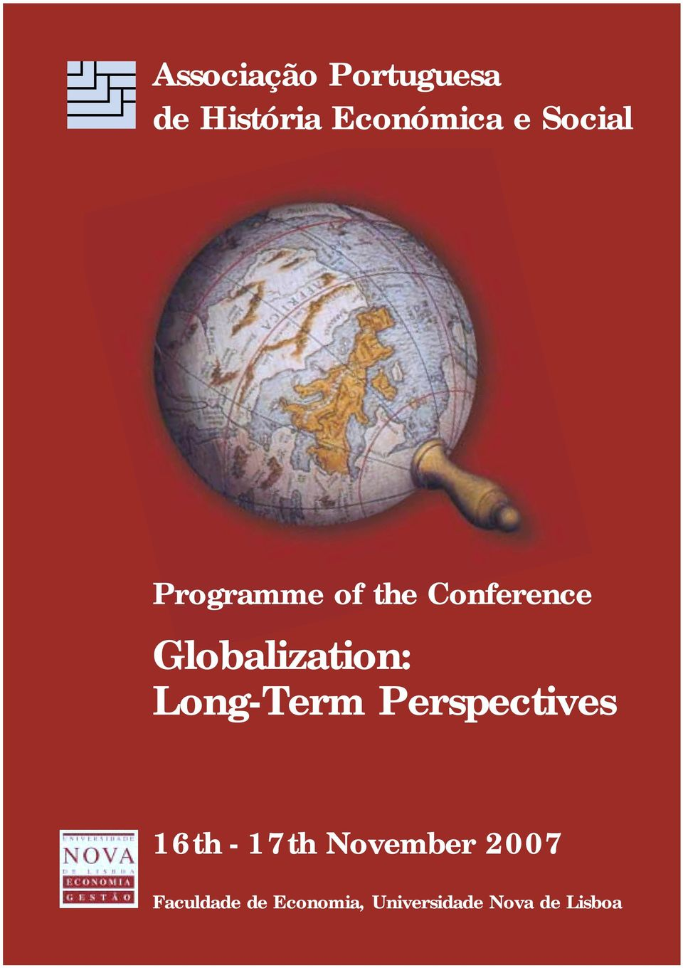Globalization: Long-Term Perspectives 16th -