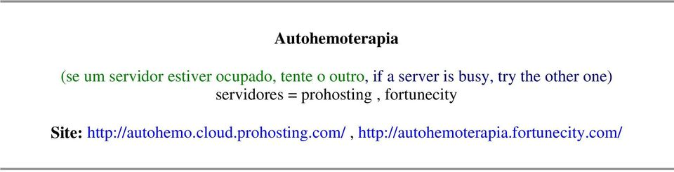 servidores = prohosting, fortunecity Site: