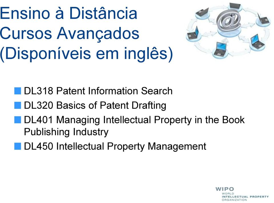 Patent Drafting DL401 Managing Intellectual Property in