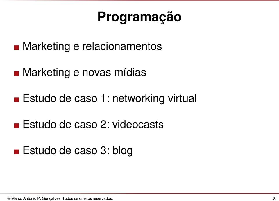 estudo de caso 1: networking virtual.